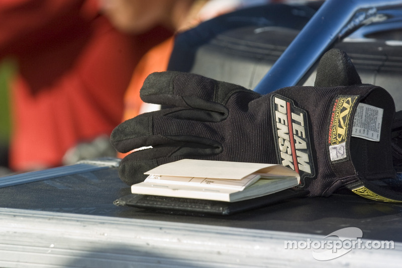 Team Penske gloves
