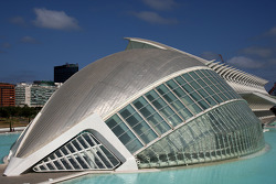 Valencia City feature, Palau de les Arts and L'Hemisferic