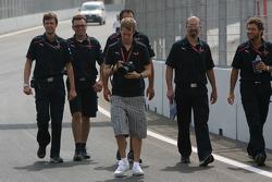 Sebastian Vettel, Scuderia Toro Rosso with a camera