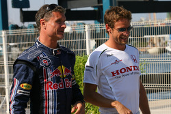 David Coulthard, Red Bull Racing and Jenson Button, Honda Racing F1 Team