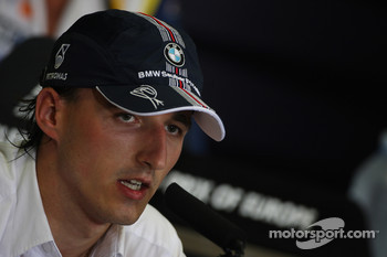 FIA press conference: Robert Kubica,  BMW Sauber F1 Team