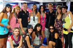 Formula Una's with Scuderia Toro Rosso drivers