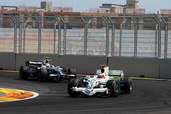 Rubens Barrichello, Honda Racing F1 Team, RA108, Kazuki Nakajima, Williams F1 Team, FW30