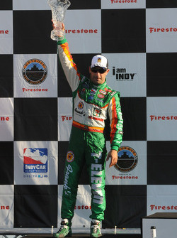Podium: third place Tony Kanaan