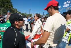 Alex Tagliani and Graham Rahal