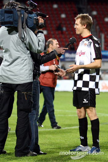 Charity Football Match, Nazionali Piloti vs All Stars Team: Sebastian Vettel, Scuderia Toro Rosso