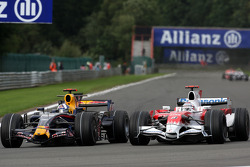 David Coulthard, Red Bull Racing, Jarno Trulli, Toyota Racing