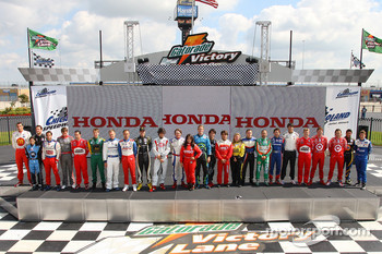 IndyCar Series drivers photoshoot