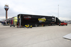 Sarah Fisher Racing hauler