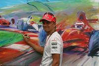 Pilotos da F1 e GP2 dão apoio à Gonzalo Rodriguez Memorial Foundation no motorhome da GP2
