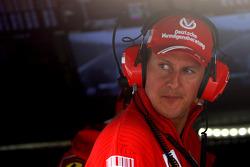 Michael Schumacher, Test Driver, Scuderia Ferrari