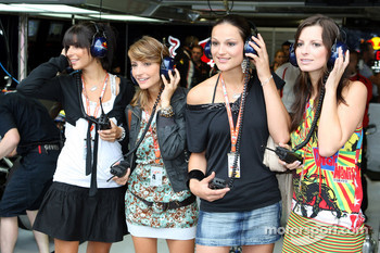 Formula Una's girls
