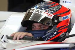 Marco Asmer, Test Driver, BMW Sauber F1 Team- Formula 1 Testing