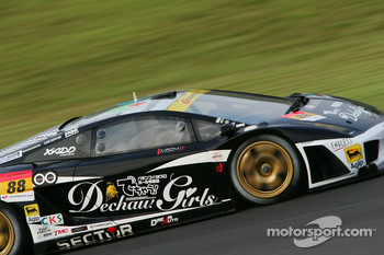 #88 Dgrq Gallardo RG-3: Hideshi Matsuda, Naohiro Furuya