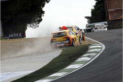Tom Coronel, Sun Red SEAT Team, SEAT Leon FSI crashes in Tiago Monteiro