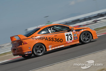 #73 Compass360 Racing Acura RSX Type S: Karl Thomson, Kevin York