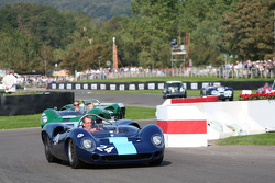 Goodwood Legends parade: David Hobbs in Lola T70