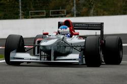 To the pitlane: Klaas Zwart (NL) Ascari, F1 Benetton B197 Judd 4.0 V10