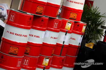 Toyota F1 Team, Race Fuel