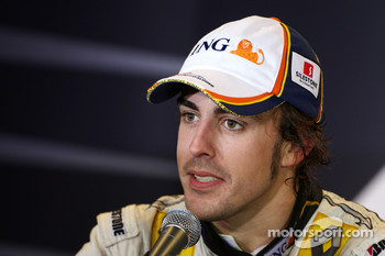 Post-race press conference: race winner Fernando Alonso