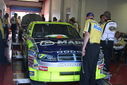 Mapei Menards Dodge at tech inspection