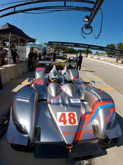 #48 Corsa Motorsports Ginetta - Zytek 07S Zytek: Johnny Mowlem, Gunnar Jeannette, Stefan Johansson
