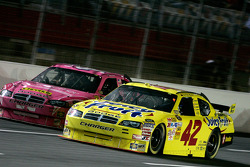 Juan Pablo Montoya and Bobby Labonte
