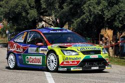 Khalid Al-Qassimi and Michael Orr, Ford World Rally Team Ford Focus RS WRC
