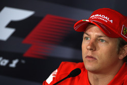 FIA Thursday press conference: Kimi Raikkonen, Scuderia Ferrari