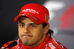 FIA press conference: third place Felipe Massa