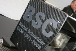 Sign for Bernd Schneider, Team HWA AMG Mercedes, AMG Mercedes C-Klasse