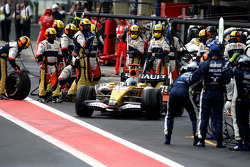 Pitstop, Fernando Alonso, Renault F1 Team