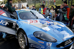 Jetalliance Racing Aston Martin DB9, Karl Wendlinger and Ryan Sharp