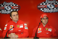 Press conference: Stefano Domenicali and Felipe Massa
