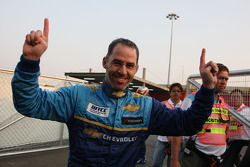 Pole winner Alain Menu
