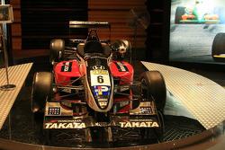Macau Grand Prix Museum: Takuma Sato's Macau winning F3 car