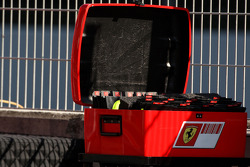 Pitboard box for Scuderia Ferrari