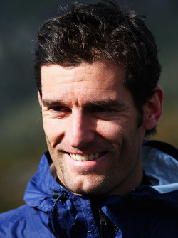 Launceston, Australia: Mark Webber looks on prior to the start