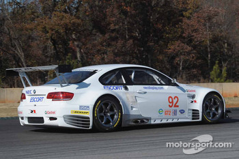 BMW Rahal Letterman Racing Team tests: Andy Priaulx tests the BMW Rahal Letterman Racing BMW M3