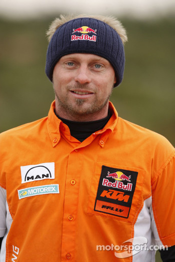 KTM: Alex Doringer, team manager