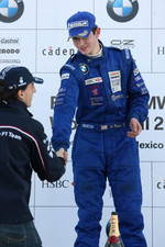 Podium: World Final winner Alexander Rossi with Robert Kubica