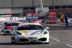 Ferrari Challenge Trofeo Pirelli Coppa Shell, Roberto Giacopuzzi, Ferrari F430, Ineco / MP Racing