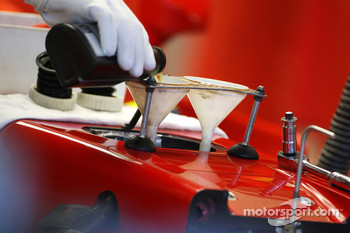 Scuderia Ferrari, F2008, detail