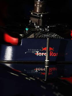 Scuderia Toro Rosso, steering wheel
