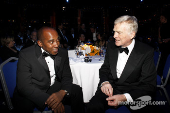 Anthony Hamilton and FIA President Max Mosley