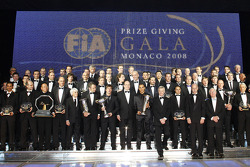 2008 FIA Gala prize giving ceremony, Monaco