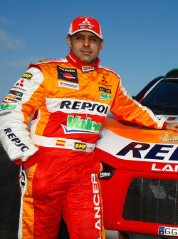 Repsol Mitsubishi Ralliart Team: co-driver Lucas Cruz Senra