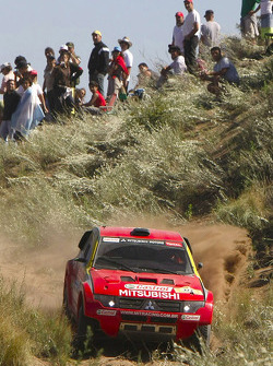 #322 Mitsubishi Pajero: Guilherme Spinelli and Marcelo Vivolo
