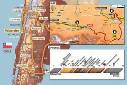 Stage 6: 2009-01-08, San Rafaël to Mendoza