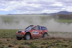 #316 BMW X3 CC: Leonid Novitskiy and Oleg Tyupenkin